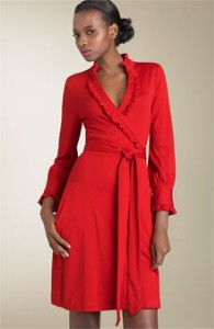 Red Wrap Dress – EmilyStyle