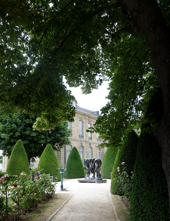 Musee Rodin Sculpture Garden View